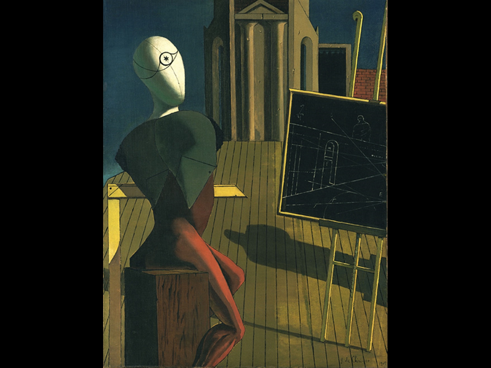 The Museum of Modern Art, New York James Thrall Soby Bequest, 1979 Acc.1214.1979 © Fondazione Giorgio e Isa de Chirico by SIAE 2010