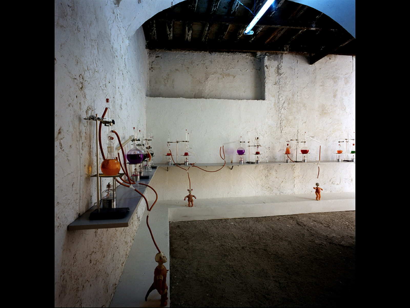installation, environment measurements. Private collection. © Rodolfo Fiorenza