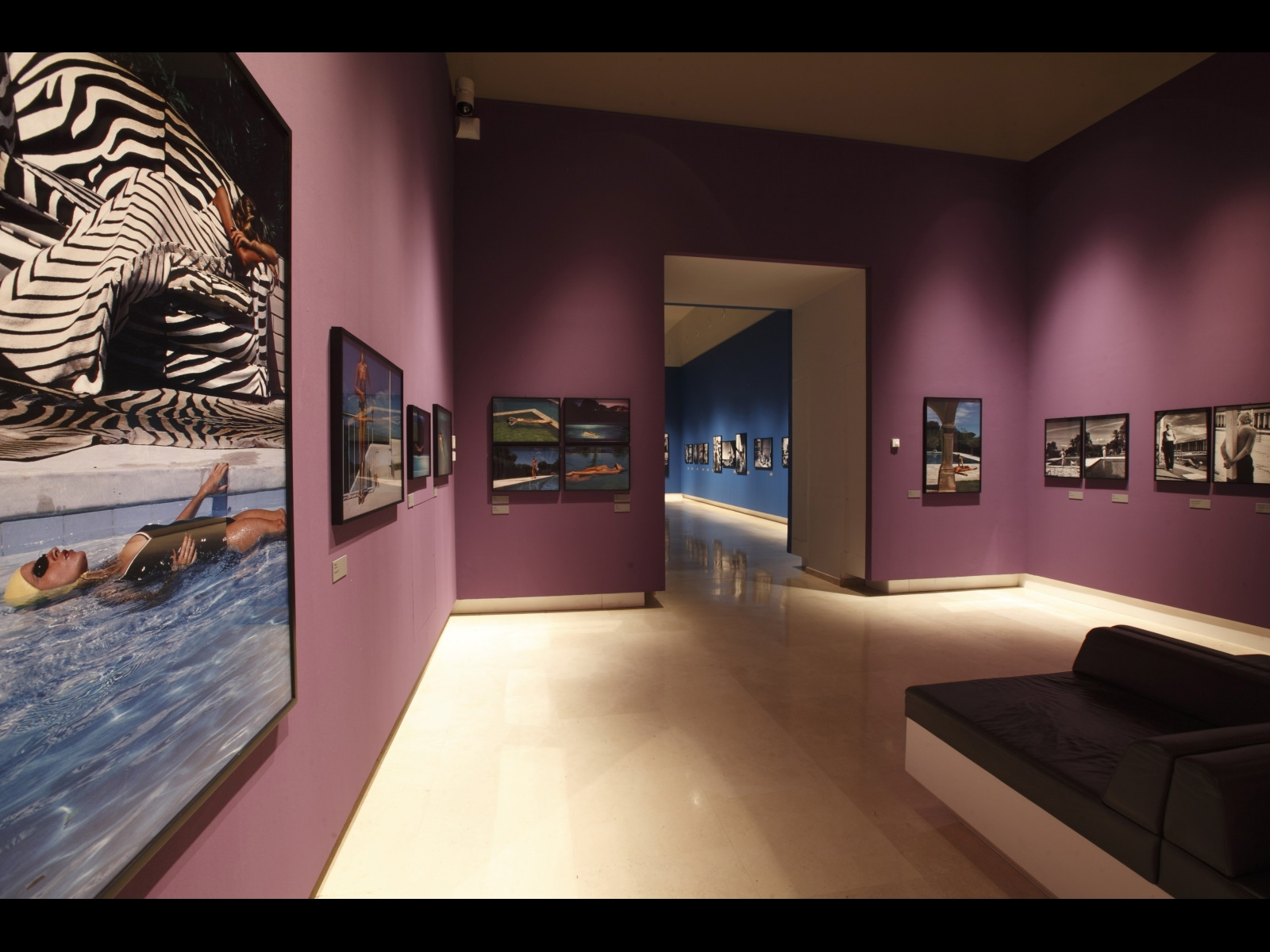 The exhibition design